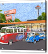 Dicks Drive In Seattle Acrylic Print