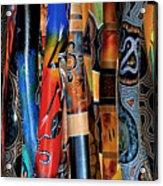Digeridoos Acrylic Print