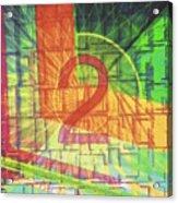 Digit 2 Acrylic Print