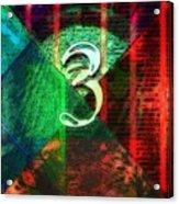 Digit 3 Acrylic Print