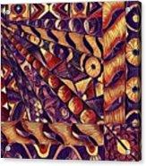 Digital Abstract 1 Acrylic Print