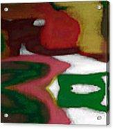 Digital Abstract 7 Acrylic Print