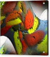 Digital Abstract World Acrylic Print