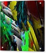 Digital Abstraction 070611 Acrylic Print