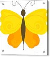 Digital Butterfly Acrylic Print