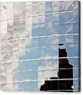Digital Clouds Acrylic Print