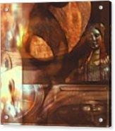 Digital Collage  Acrylic Print