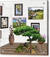 Digital Exhibition _ Bonsai 22 Acrylic Print