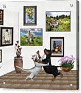 Digital Exhibition _ Dancing Lovers Acrylic Print