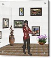 Digital Exhibition 21 Acrylic Print