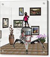 Digital Exhibition 421 Acrylic Print