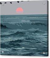 Digital Illustration Acrylic Print