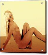 Digital Nude Color Acrylic Print
