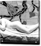 Digital Photography - The Bird Woman Acrylic Print