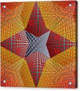 Digital Star 2 Acrylic Print