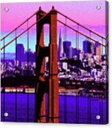 Digital Sunset - Ggb Acrylic Print
