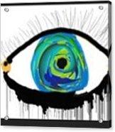 Digital Tears Acrylic Print