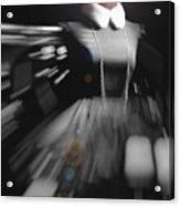 Digital Visualization Of A Female Mystic Acrylic Print