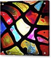 Digital_leaf Theme Acrylic Print