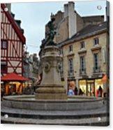Dijon Fountain Acrylic Print