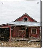 Dilapidated Old Barn Acrylic Print