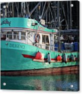 Diligence At French Creek Acrylic Print