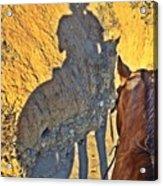 Dillie Selfie Acrylic Print