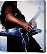 Dimebag Is Gd Electric Acrylic Print by Al  Molina
