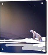 Diminishing Platform Acrylic Print