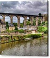 Dinan Port Brittany France Acrylic Print