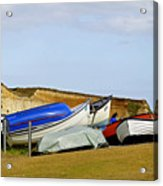 Dinghy Park At Freshwater Bay Acrylic Print