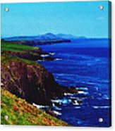Dingle Coastline Near Fahan Ireland Acrylic Print