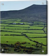 Dingle Peninsula Panorama Ireland Acrylic Print