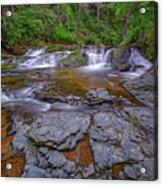Dingmans Creek II Acrylic Print