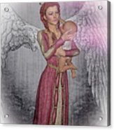 Diniel - Angel Who Protects Infants Acrylic Print