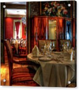 Dining At Muriel's Acrylic Print