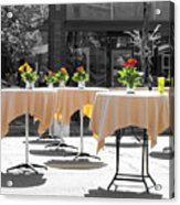 Dining Out Acrylic Print