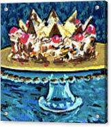 Dinner Cake Acrylic Print