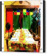 Dinner For Eight Acrylic Print