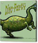 Dino Party Acrylic Print