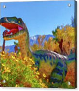Dinosaur 7 Acrylic Print