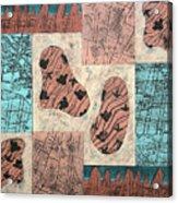 Dinosaur Ridge Acrylic Print