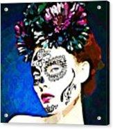 Dios De Los Muertos 1 Acrylic Print