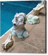 Dipping Dolly Acrylic Print