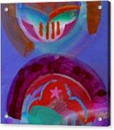 Diptych Acrylic Print