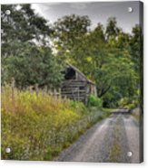 Dirt Roads Acrylic Print