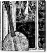 Dirty Banjo Mandolin Acrylic Print