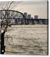 Dirty Water View Acrylic Print