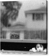 Dirty Window.......... Acrylic Print