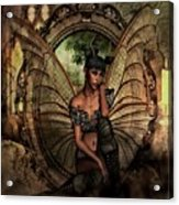Disappointed Fairy Acrylic Print